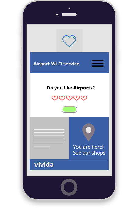 Vivida Project for Airports