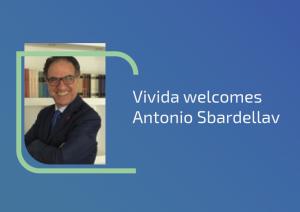 Antonio Sbardella vivida Senior Vice President Business Development and Member of the Board.